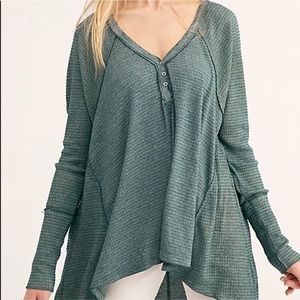 Free People | We The Free Vetiver Tunic